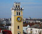 Міський годинник на вежі колишньої пожежної каланчі