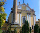 Мінарет біля кафедрального Петропавлівського костьолу