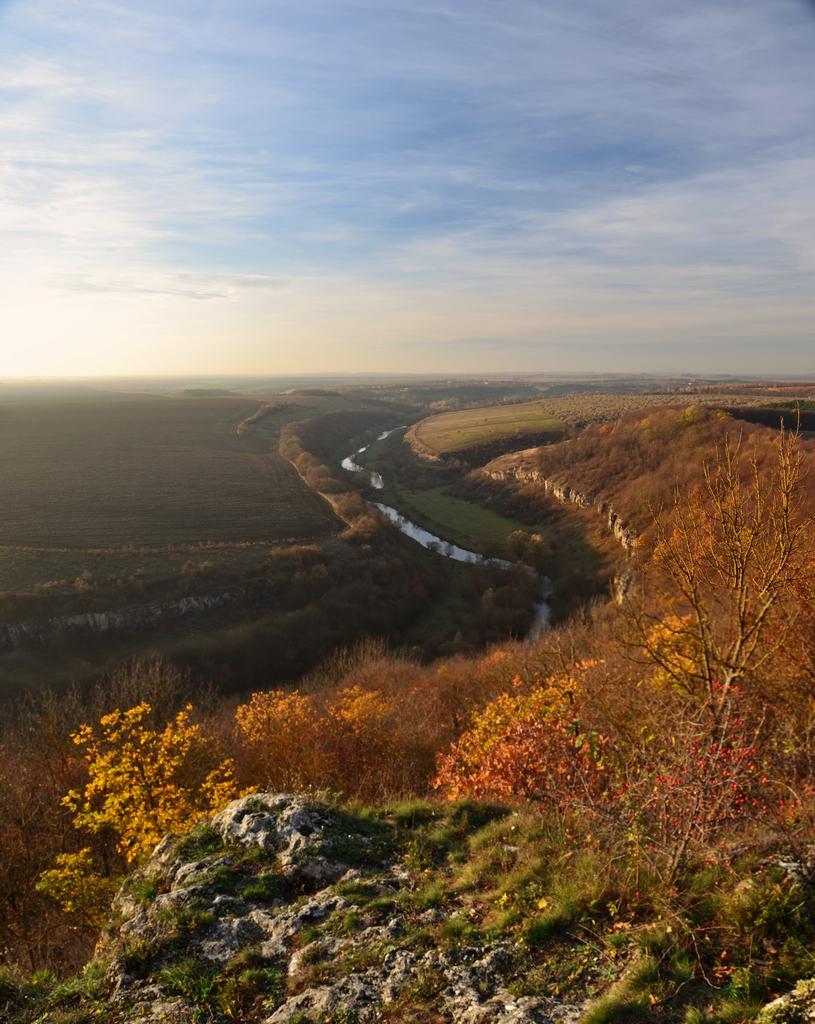 Каньйон на річці Смотрич